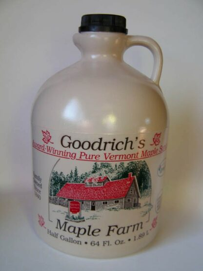 Maple Syrup in 1/2 Gallon Plastic Jug-0